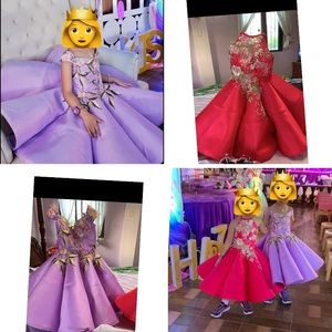 Other - Girls gown, purple and pink,would fit from 4-9y/o